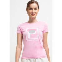 FILA Baju Kaos Wanita Maskua - Pink