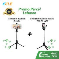 ECLE Paket Parsel Lebaran Selfie Stick Tripod handphone + Fill Light