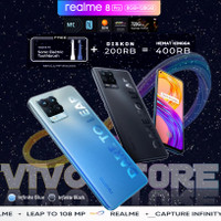REALME 8 PRO RAM 8/128 GB GARANSI RESMI REALME INDONESIA