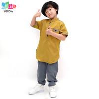 Ulikids Setelan Baju Koko Anak Laki Laki Model Takiya Bahan Toyobo