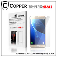 Samsung J5 2016 - COPPER TEMPERED GLASS FULL CLEAR
