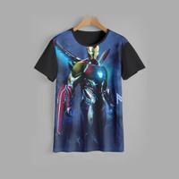 kaos anak IRON MAN baju anak IRON MAN v2 (1-12 tahun) - 1-2 tahun