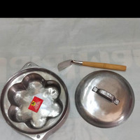 Loyang/Cetakan Kue Tradisional Bingke/Bingka ( 1 Set) Ratnashop12