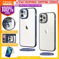 Case iPhone 12 Pro Max 12 Mini Spigen Optik Crystal Soft Clear Casing