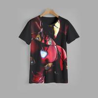 kaos anak IRON MAN baju anak IRON MAN v4 (1-12 tahun) - 1-2 tahun