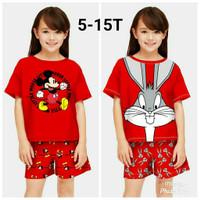 Stelan Anak / Baju Anak Stelan Perempuan terbaru umur 5-12 tahun