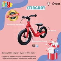 Sepeda Balance Bike (Push Bike) i-Cycle PH-1903 (STINGRAY) - Merah