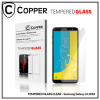 Samsung J6 2018 - COPPER TEMPERED GLASS FULL CLEAR