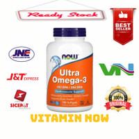 Now foods Ultra omega 3 EPA 500/DHA 250 isi 180 softgel