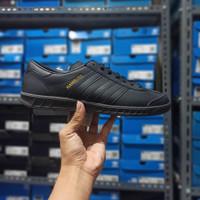 Adidas Hamburg Full Black Leather