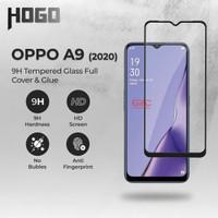 Tempered Glass OPPO A9 2020 HOGO Full Cover Anti Gores Kaca