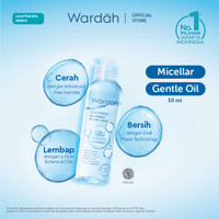 Wardah Lightening Oil-Infused Micellar Water 50 ml