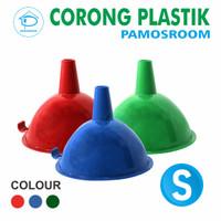 Pamosroom Corong Air Mini Kecil Corong MInyak Plastik Funnel Mini 9cm