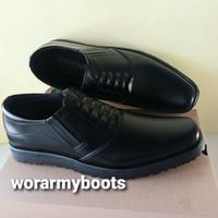 sepatu kulit pria model terbaru pdh ukuran besar 45-47