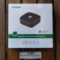 Ugreen Bluetooth 5.0 Audio AUX Receiver APTX with 3.5mm 2RCA 40759 ori