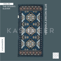 Sajadah Travel Kashmeer Water Repellent - Maharla Zircon Blue