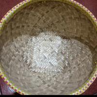 bakul nasi bambu 18cm