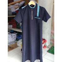 baju muslim gamis jubah anak laki cowok Ar Rahman pendek 1 - 13 thn