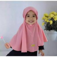 Bergo Maryam Anak Hijab Diamond Tali Jilbab Lipit Gerigi
