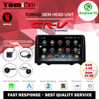 Head Unit Android TOMIKO OEM for CRV Turbo with Camera 360 Sony Lens