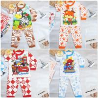 Setelan Baju Tidur Anak Laki Laki / Bayi-1 Tahun /Bisa COD/ Lemonbaby