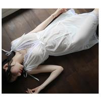 Gaun Tidur Lingerie Baju Tidur Wanita Sexy Piyama Lace transparan a352