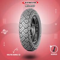Ban Tubles Motor VESPA MATIC ZENEOS MILANO 110/70 Ring 12