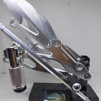 Step underbone Satria FU step lipat model NUI SILVER