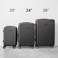 [Number8] AA NY|Koper Hardcase 20/24/28 inch|TSA|Expander 30% - 24 inch