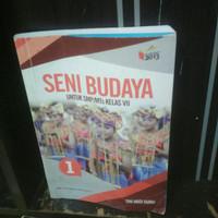 buku seni budaya untuk SMP kelas 7 penerbit Erlangga