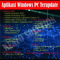 Aplikasi Windows PC/Laptop Master Collection Terbaru [Flashdisk 16GB]