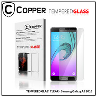 Samsung A5 2016 - COPPER TEMPERED GLASS FULL CLEAR