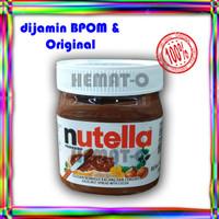 NUTELLA Spread 350 gr Selai Kacang Hazelnut BPOM Original Ferrero PRM