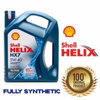 Oli Shell Helix HX7 5w40/Oli Shell HX7 Plus 5W-40 Galon 4L