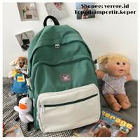 Joshee Tas Ransel wanita backpack wanita backpack pria X2420 - Tosca, X2420