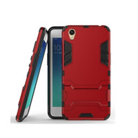 Soft Case Oppo A37 Ironman Armor Shield With Kickstand