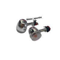 Lampu Sen depan/belakang atau lampu riting crome Honda Scoopy lama