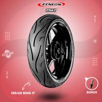 Ban Tubles Motor MOGE ZENEOS ZN62 RACING SPORT 150/60 Ring 17