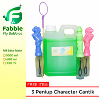 Fabble Cairan Gelembung Balon Sabun Refill 1 Liter