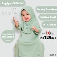 Baju Muslim Gamis Bayi 6 12 Bulan Anak Perempuan 1 2 3 4 Tahun Pastel
