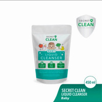 Secret Clean Baby Liquid Bottle Cleanser Refill 450ml