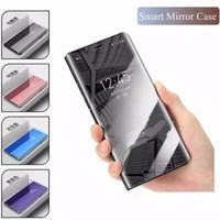 Asus Zenfone Max Pro M2/M1 Flip Case Clear View Standing Mirror Cover