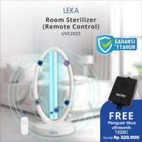LEKA UVC2023 UV Sterilizer Room Sterilisasi Ruangan