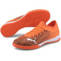 SEPATU FUTSAL PUMA ULTRA 3.1 IT Shocking Orange-Puma Black 106090 01