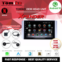 Head Unit Android TOMIKO OEM forXPANDER with Camera 360 Sony Lens