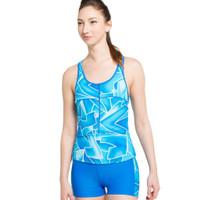 Opelon Pakaian Renang Wanita - Ladies Boyleg Blue