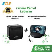 ECLE Promo Parsel Lebaran 2 Pcs Bluetooth Wireless Speaker Portable