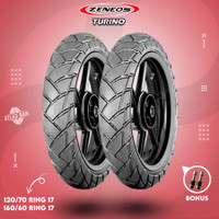 Paket Ban Tubles Motor MOGE ZENEOS ZN33 TURINO 120/70 - 160/60 Ring 17