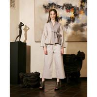 Atasan Wanita Nefertiti Sayaka Lurik Outerwear
