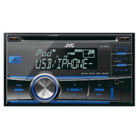 Head Unit JVC KW-RH500 Double Din MP3 USB Car Audio Tape Mobil Honda